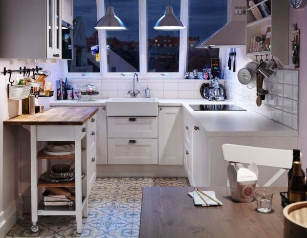 Aménagement d'une petite cuisine en U