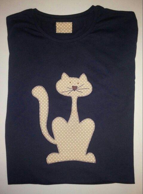 Camiseta patcwork chica