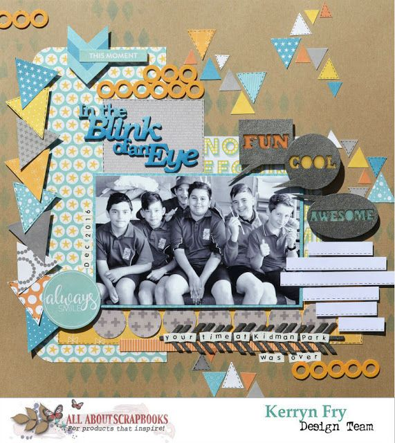 All About Scrapbooks Australia: In the Blink of an Eye with Jillibean Soup Hardy H...