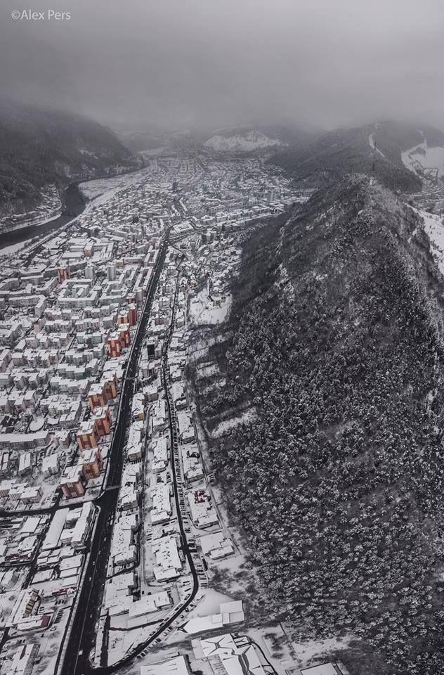 Piatra Neamț Foto: Alex Pers  #romaniaazi #piatraneamt #oras #priveliste #iarna #urban
