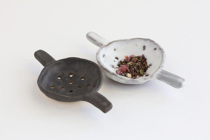 // Ceramic Tea Strainer