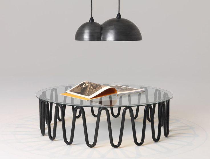 Идеи Мебели - Круглые Журнальные Столики, Сделанные Из Стекла