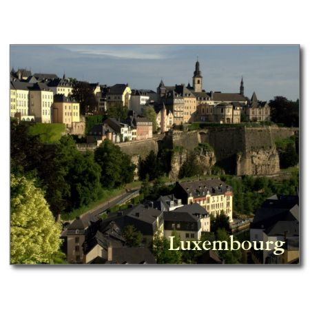 Grund, Luxembourg Post Cards