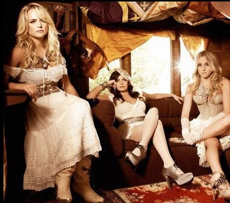 Miranda's new band, the Pistol Annies... I'm not a huge fan yet, but maybe I should listen to the whole CD before I decide.