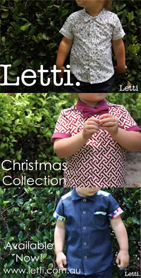 New Button Ups.   1. Cookies & Cream 2. Geo ft Maroon Little Bro Tie 3. Tri-Colour  ALL Available NOW at www.letti.com.au