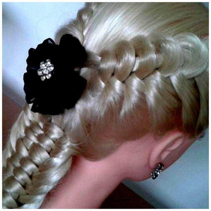 LOOP ON A ROPE BRAID WITH INFINITY BRAID / Hair Tutorial / HairGlamour
