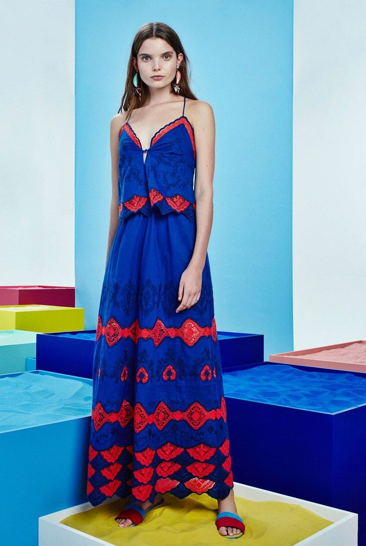 Tanya Taylor Spring/Summer 2017 Ready-To-Wear Collection | British Vogue #NYFW