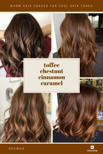 12 Brown Hair Color Shades For Indian Skin Tones Hair Color
