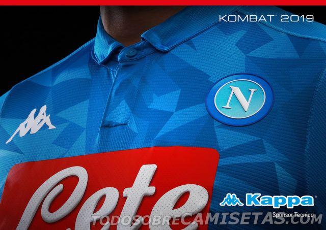 b8029ce32c5bd SSC Napoli Kappa Home Kit 2018-19 - Todo Sobre Camisetas