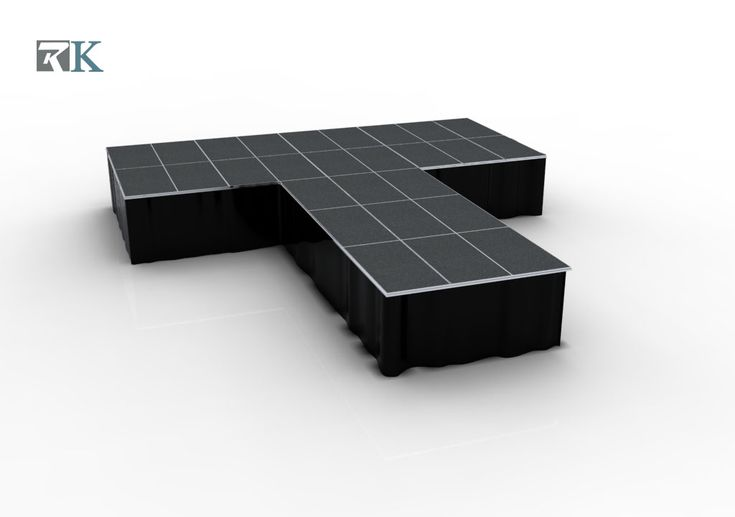 RK Stage kits- T Stage Rectangle Platforms