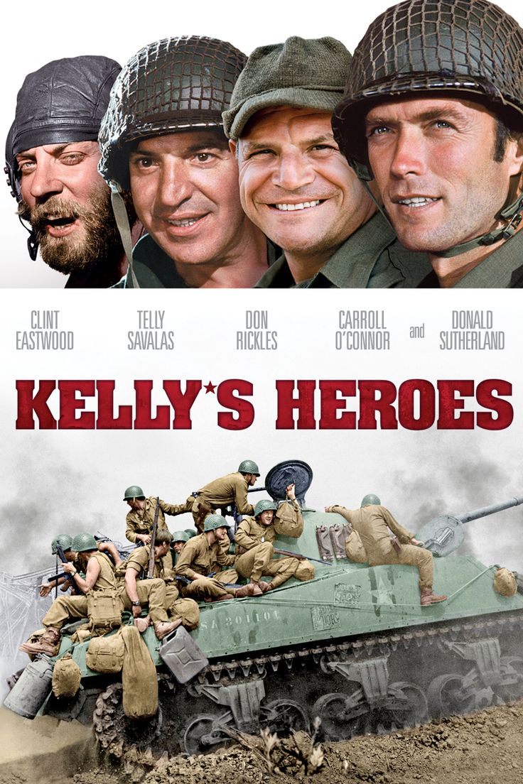 1970 Kelly's Heroes - I thoroughly enjoyed this movie.  A war/comedy/drama..Great cast