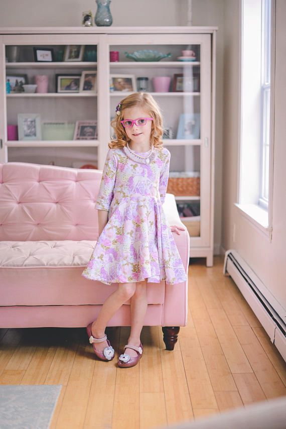 10919978a5174 Every little girl needs a unicorn dress! This soft knit dress is the one  she's been dreaming of! The full skirt is perfect for twirling, and the  gorgeous ...