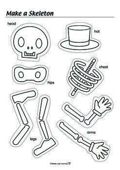 halloween skeleton silhouette