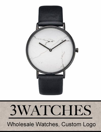 Thehorse Wholesale Watches. Custom Logo. White Stone / Black Leather. Visiting: http://www.3watches.com/horse-watch/