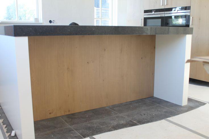 eilandblad met bar gedeelte voor ikea keuken.