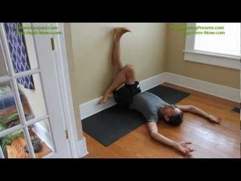Yoga para Dolor de Espalda, Flexibilidad de las Caderas y Muslos - YouTube