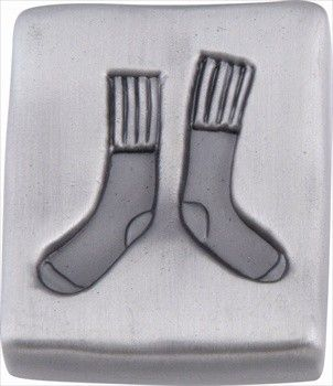 atlas homewares laundry sock design quad knob pewter