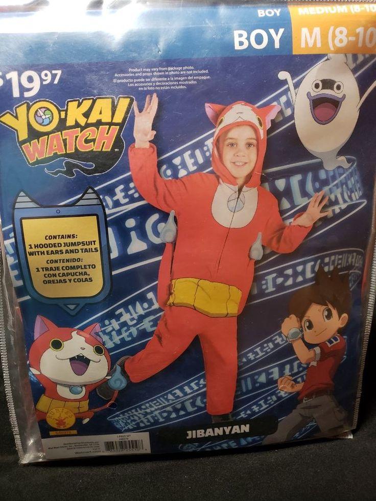 Yokai watch Costume Medium complete Halloween costume boy