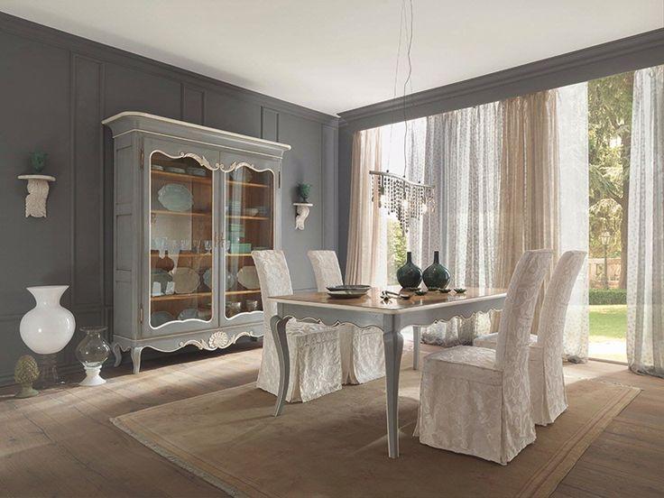 Tavolo shining ~ Tavolo in legno metallo e vetro levante calligaris cs r
