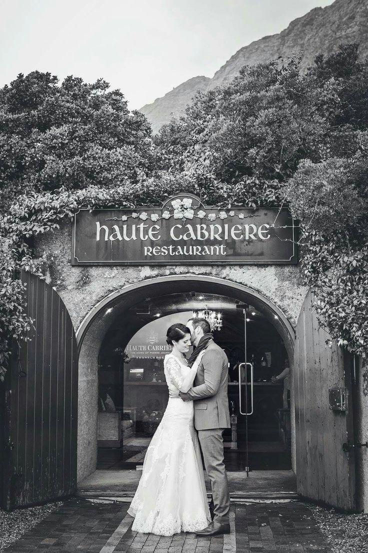 Haute Cabriere black and white vintage shot  #hautecabriere #franschhoek