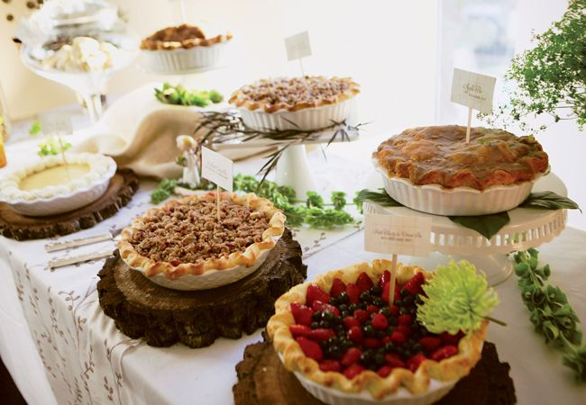 12 Surprising Food Bars You've Never Seen Before! | The Knot Blog – Wedding Dresses, Shoes, & Hairstyle News & Ideas