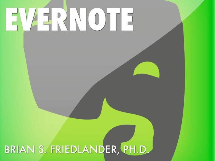 @Brian Friedlander gives you a quick summary on what Evernote is, how to use it, and also shares some tips and tricks.