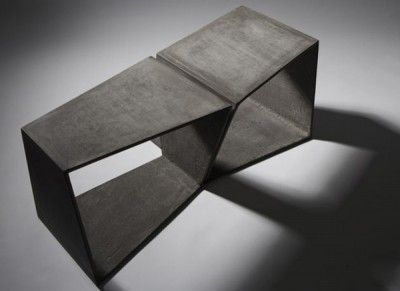 [thin] Concrete Bench By Daniel Miese