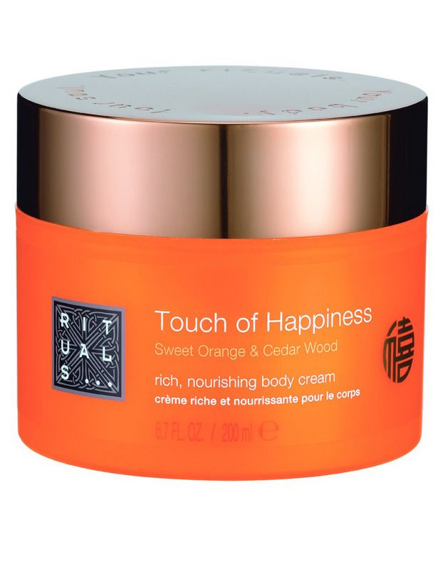 Touch of happiness! It smells real good... love this one from rituals, ultieme feelgood geur.