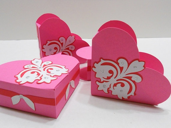 102 best Valentine\'s - Bags & Boxes images on Pinterest | Holiday ...