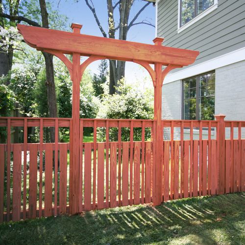 33 Best Craftsman Style Fence Design Ideas, Images On