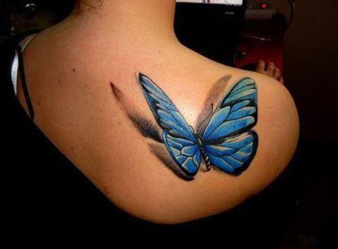 La guía definitiva de los【Tatuajes de Mariposas】✓ Significados ✓ Para Mujeres ✓ En la Espalda ✓ Diseños ✓ 3D | Imágenes y Videos