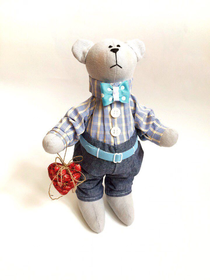 Мишка тильда, подарок на День Святого Валентина, день влюблённых tilda bears Valentine's Day gift toys