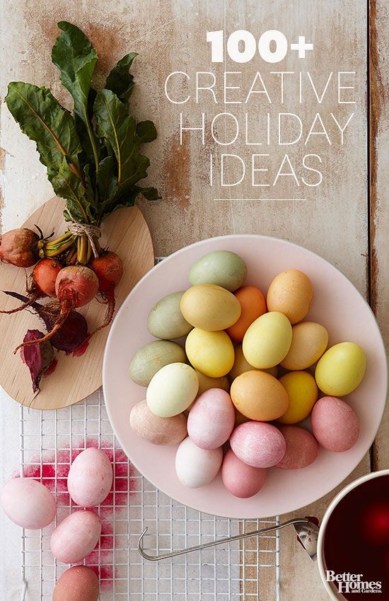 Celebrate the holidays with Better Homes and Gardens! Starting with New Year's parties and appetizers, pretty Valentine's Day cards, Easter egg decorating ideas, and Fourth of July crafts, we help you enjoy the holiday festivities.
