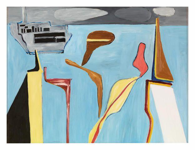 Ken Whisson (born 1927) Ship and Plasma II, 1976
