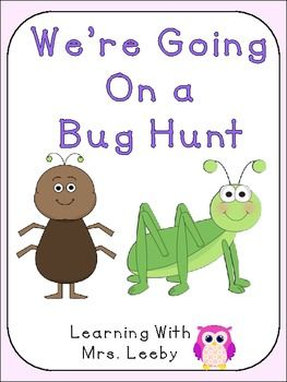 Use this mini-pack to correspond with your science lessons and bug unit!