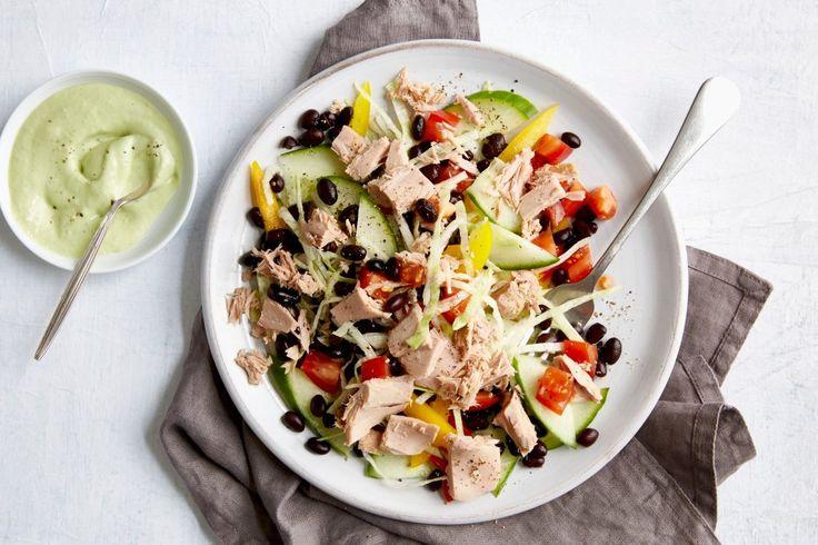 Schwarze-Bohnen-Salat mit Thunfisch