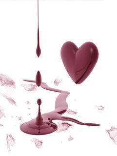 Heart Blood Wallpaper - Mobile Fun