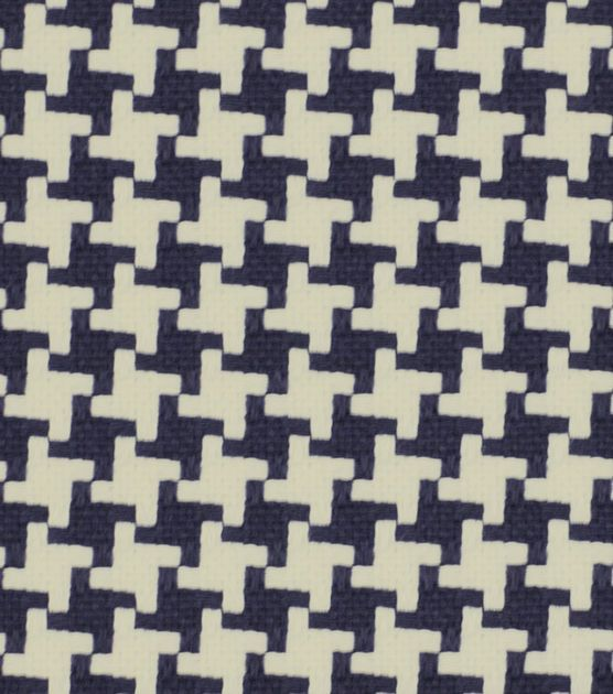 Upholstery Fabric-Robert Allen Square Pegs Navy dining room chairs
