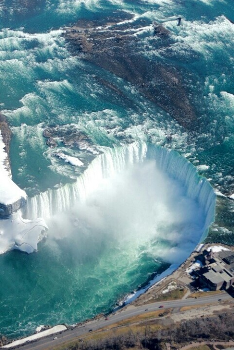 Niagra Falls - one of the most beautiful sights I have actually ever seen