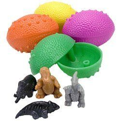Cheap Toy Sales: 36 Dinosaurs Eggs with Mini Toy Dinosaur Figures Inside for $7.69, down from $14.95!