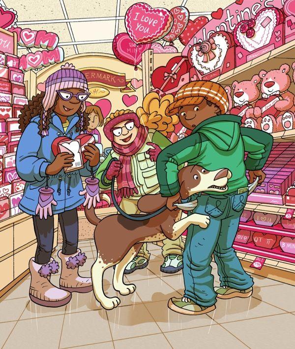 (2014-08) Hvad gør de i slikbutikken?