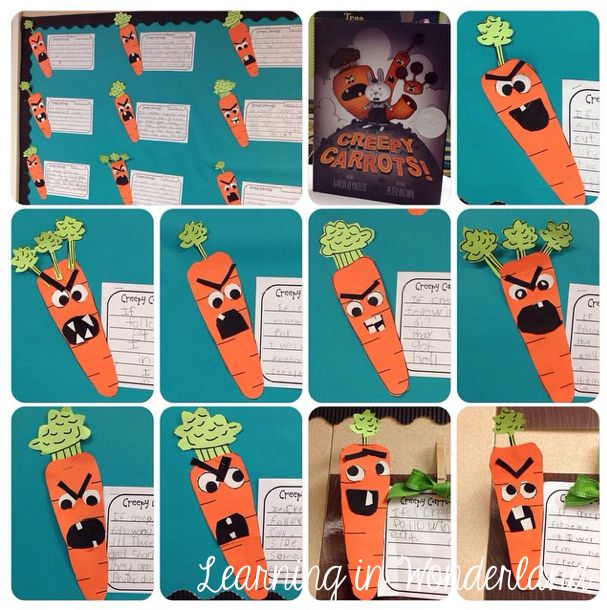 Learning in Wonderland Five for Friday Creepy carrots