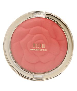 Milani Rose Powder Blush   In a variety of shades and finishes, these affordable drugstore blushes offer pretty pops of color without the steep price tag. Sweep one over your cheeks to take your complexion from rundown to rosy in seconds.