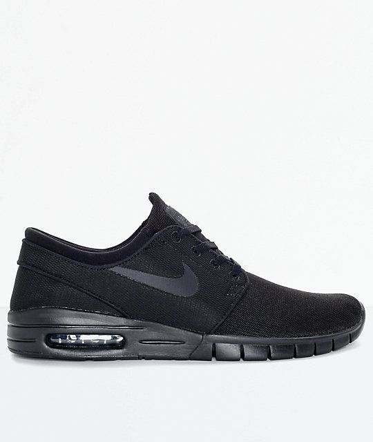 830af0935945 Nike SB Stefan Janoski Air Max Black   Anthracite Mesh Skate Shoes Men s Sz  8  fashion  clothing  shoes  accessories  mensshoes  athleticshoes (ebay  link)