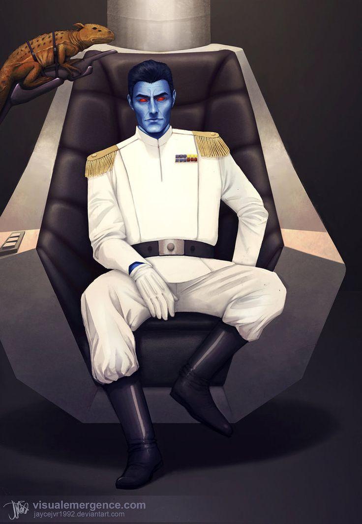 Grand Admiral Thrawn by JayceJvR1992. #GetThrawnIn #StarWarsRebels