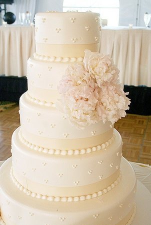 Vale of Enna flowers. Peony. Blush Pink. Cake. Chicago Wedding.