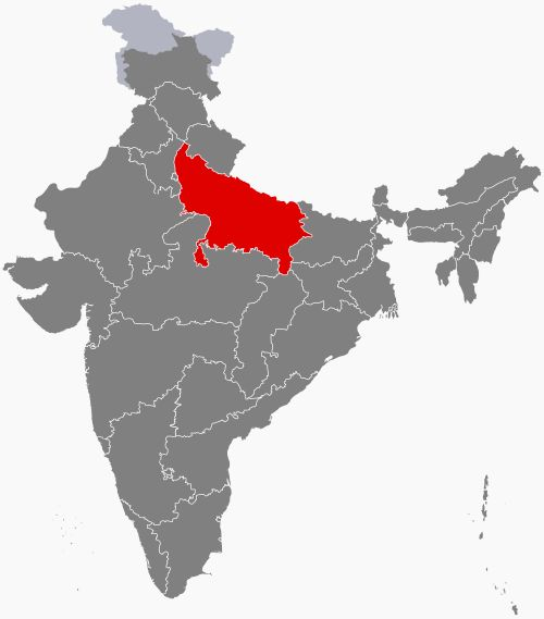 Uttar Pradesh (/ˈʊtər prəˈdɛʃ/) (IAST: Uttara Pradeśa), is a state in northern India. Abbreviated as UP, it is the most populous state in the Republic of India as well as the most populous country subdivision in the world. The densely populated state, located in the northern region of the Indian subcontinent, has over 200 million inhabitants. It was created on 1 April 1937 as the United Provinces during British rule, and was renamed Uttar Pradesh in 1950. The state is divided into 18…