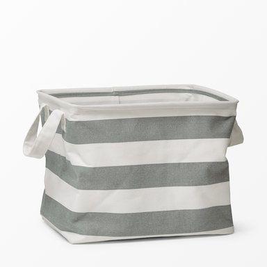 Förvaringskorg Noah, 34x25x27 cm, grå