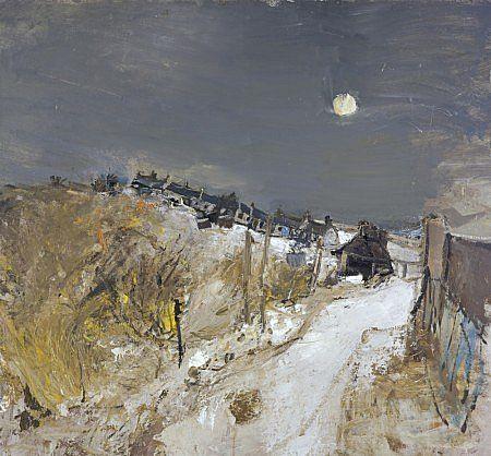 Catterline in Winter - Joan Eardley