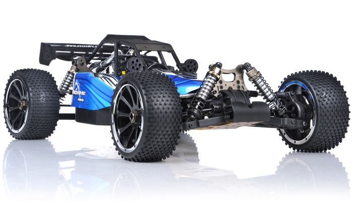1/5th Giant Scale Exceed RC Barca 30cc Gas-Powered Off-Road Remote ...
